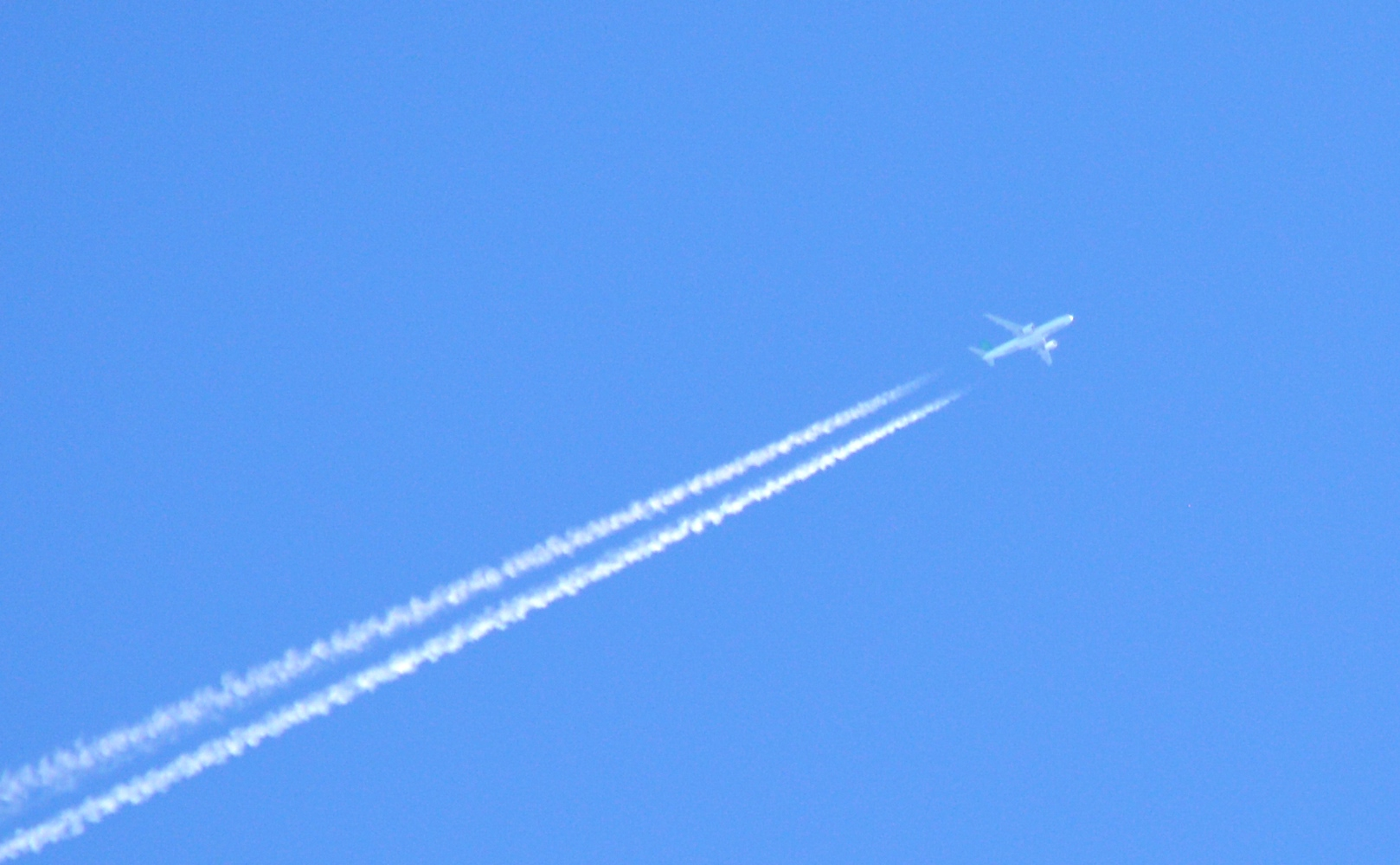 business Idiom SMALL JET ON BLUE SKY